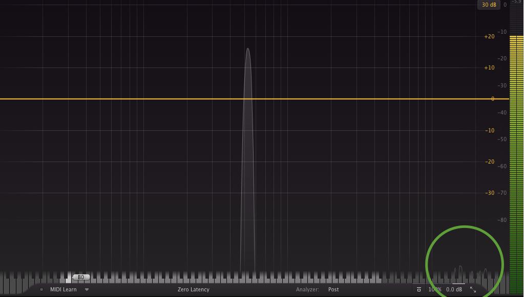 528 Hz harmonic distortions