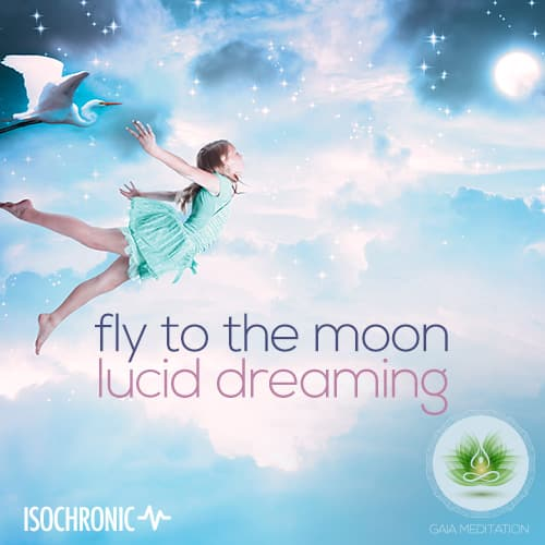 Fly To The Moon (Isochronic) - Gaia Meditation