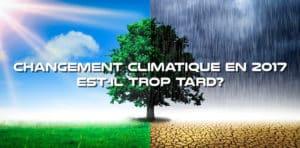 Changement Climatique En 2017