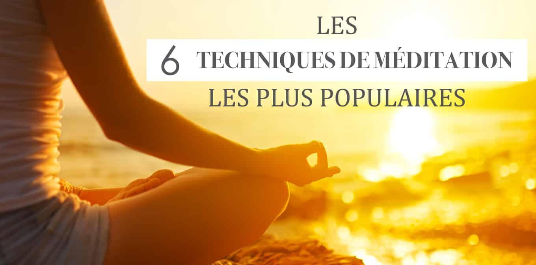 Techniques De Méditation Populaires