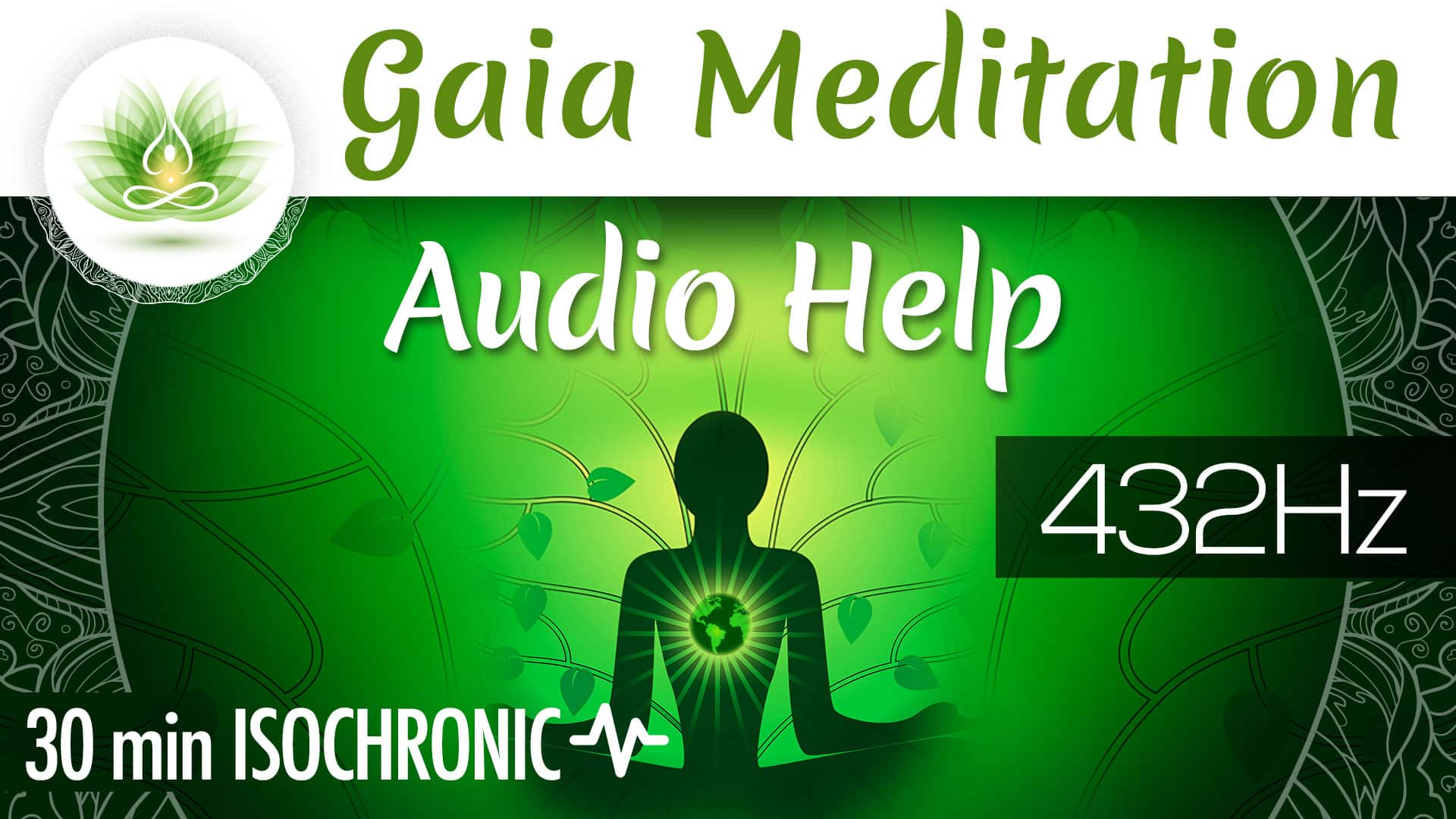 Gaia Meditation Audio Help