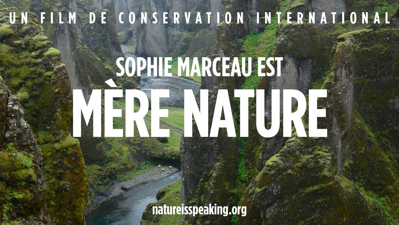 La Nature Parle_ Sophie Marceau est Mère Nature