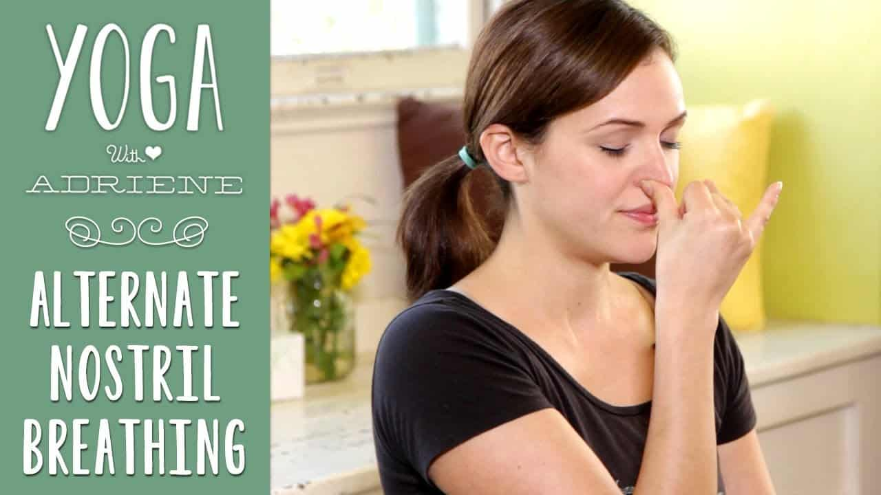 Yoga Breathing _ Alternate Nostril Breathing
