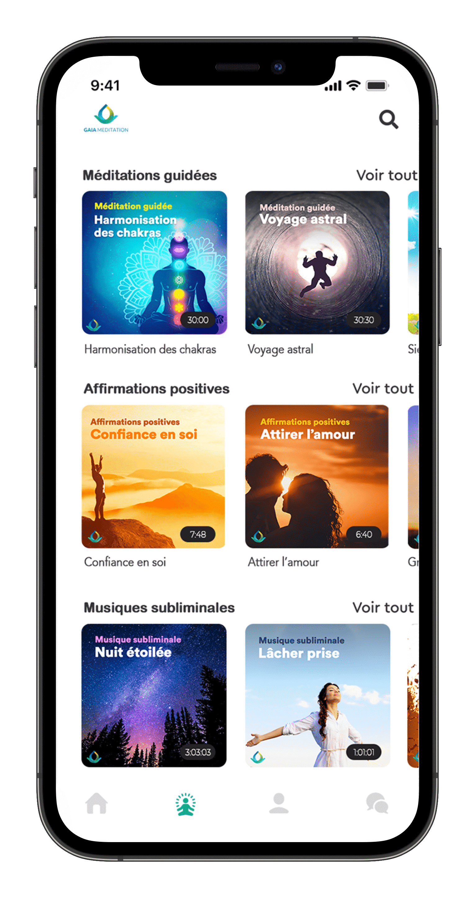 App Gaia Meditation